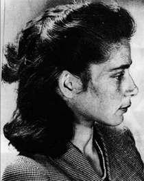 Marie Langer c1950, by Grete Stern