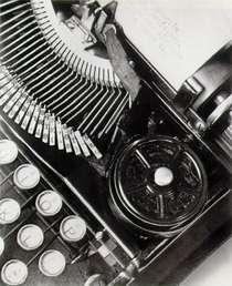 Mella's typewriter, 1929