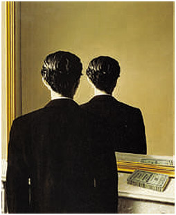 Edward James, La reproduction interdite, 1937 René Magritte ARS