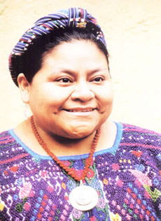 Introduction by Nobel Peace Prize winner Rigoberta Menchú.